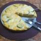 Frittata con zucchine e mozzarella