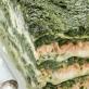 Lasagne z łososiem i szpinakiem