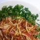 Makaron z pomidorami i boczkiem