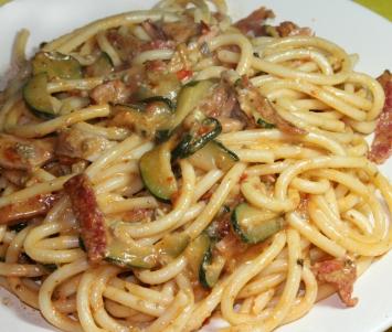 Makaron Z Salami Kuchnia Włoska Przepisy Porady