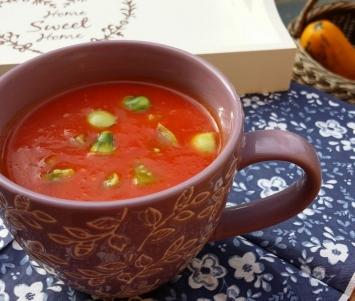 Pomidorowy chłodnik