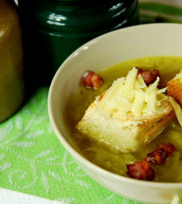 Toskanska Zupa Cebulowa Kuchnia Wloska Przepisy Porady