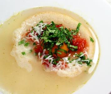 Zupa Pavese Kuchnia Wloska Przepisy Porady Videoblog Recenzje